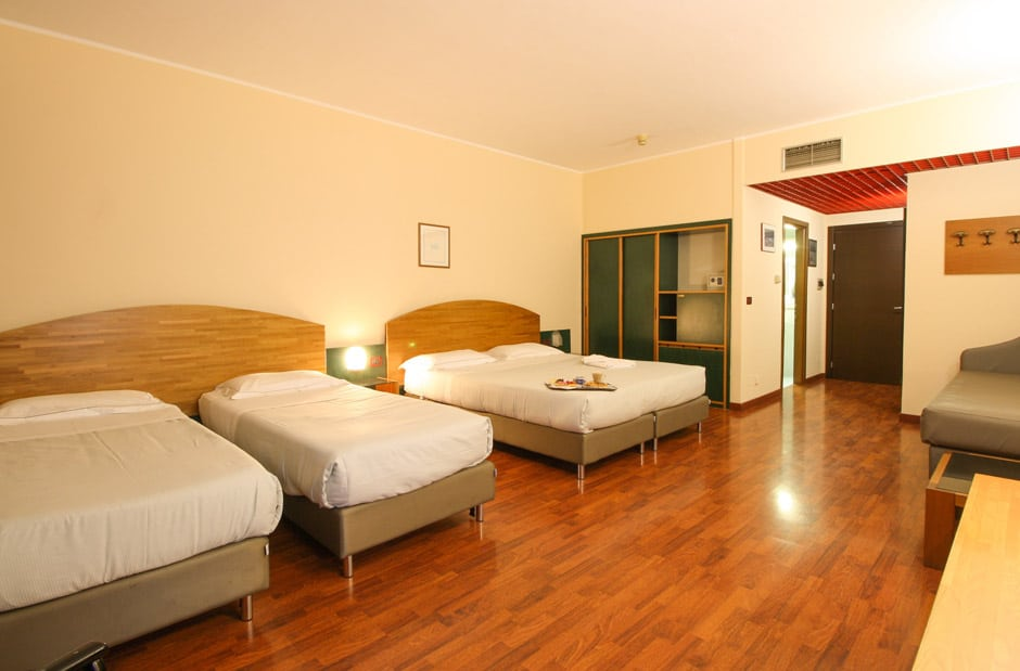 camera quadrupla Sun Hotel Rubiera
