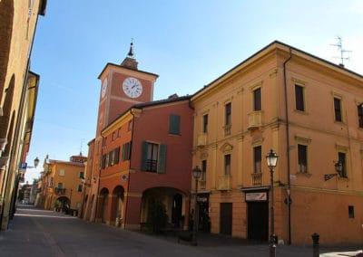 centro storico rubiera
