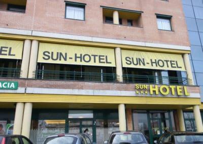 sun hotel esterno